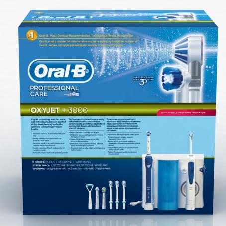 92287cc6822 ORAL-B hambahoolduskeskus OxyJet Professional Care 8500 « Elektrilised  hambaharjad ja tarvikud « Hambaharjad « e-pood « HITTS.EE - Suu- ja  kehahooldustooted