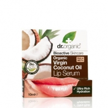 DR.ORGANIC Kookoseõli huulepalsam 10ml