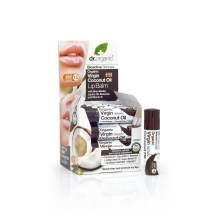 DR.ORGANIC Kookoseõli huulepalsam 5,7ml