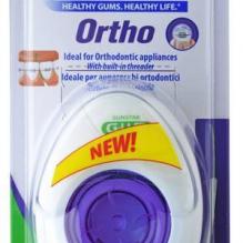 GUM® Ortho Floss hambaniit Kolm-ühes hambaniit, breketitele