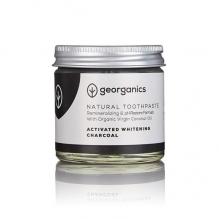 GEORGANICS looduslik orgaaniline remineraliseeriv hambapasta kookosõli baasil (valgendav aktiivsöega) 60 ml