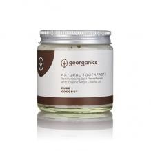 GEORGANICS looduslik orgaaniline hambapasta kookosõli baasil (puhas kookos) 120 ml