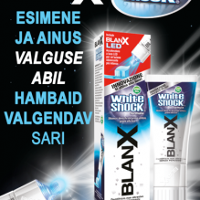 BlanX® White Shock hambapasta 50 ml + LED-kork-aktivaator